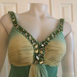 Faviana Dresses - Faviana Couture Breaded Dress Prom 4